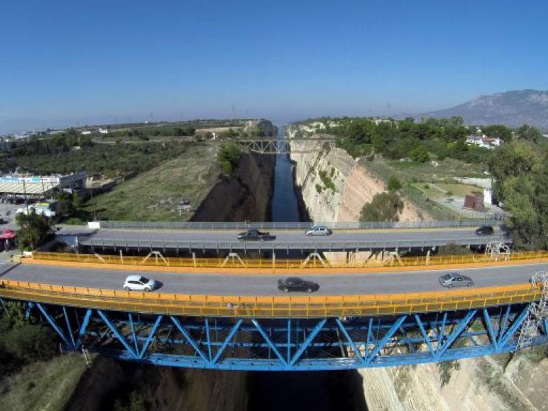 Γέφυρα Ισθμού-Κόρινθος