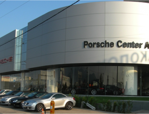 Porche Center Athens