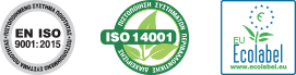 ISO 14001 - EN ISO 9001:2008 - ECO LABEL