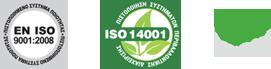 ISO 14001 - EN ISO 9001:2008 - LOW VOC